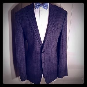 Versace Collection Blue Windowpane
